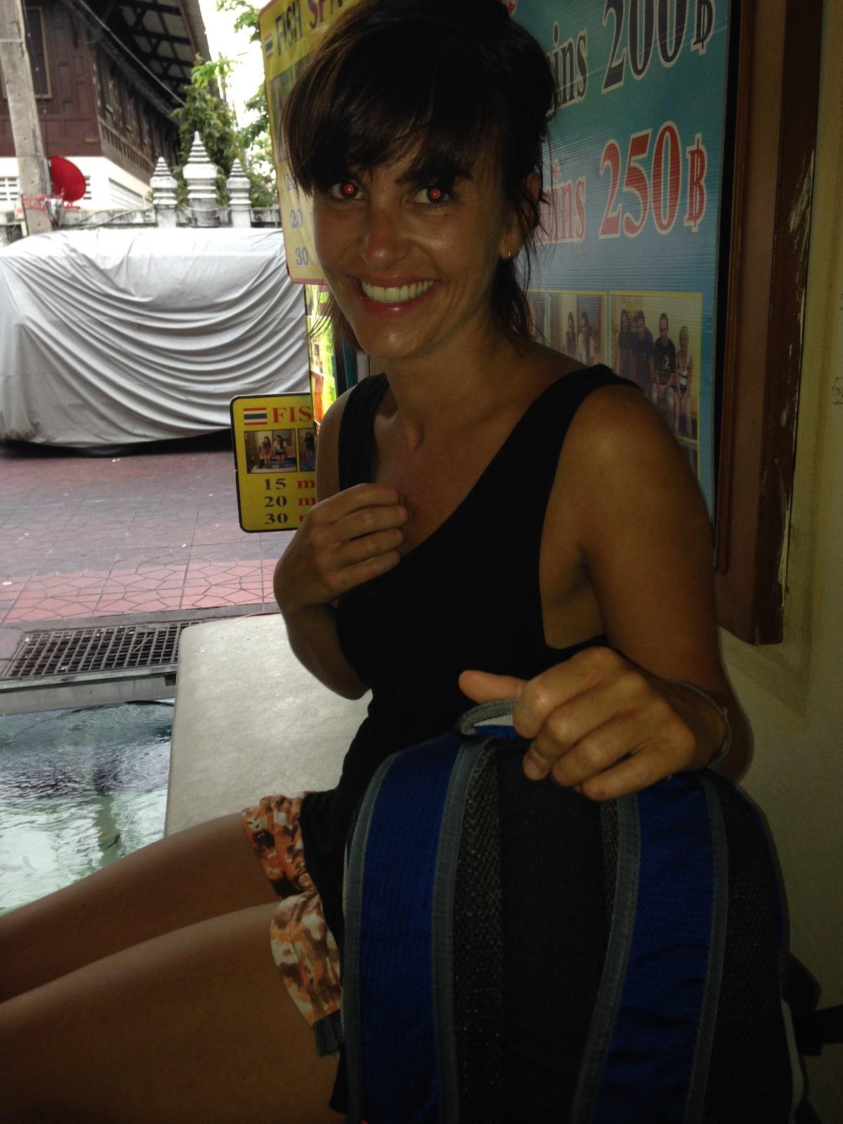 Geraldine from Hong Kong