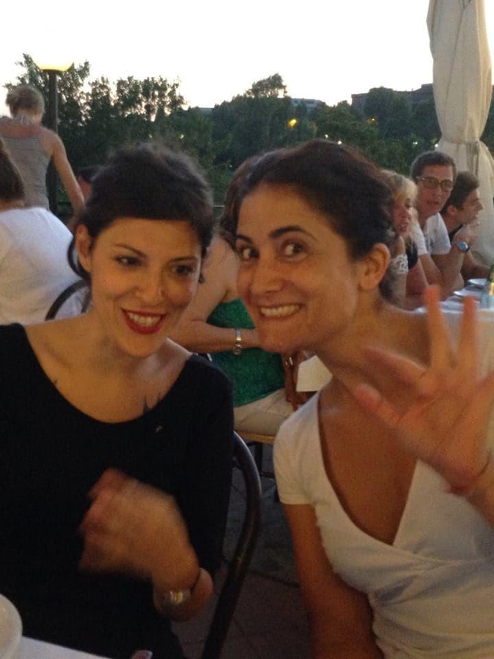 Emanuela & Celeste from Roma