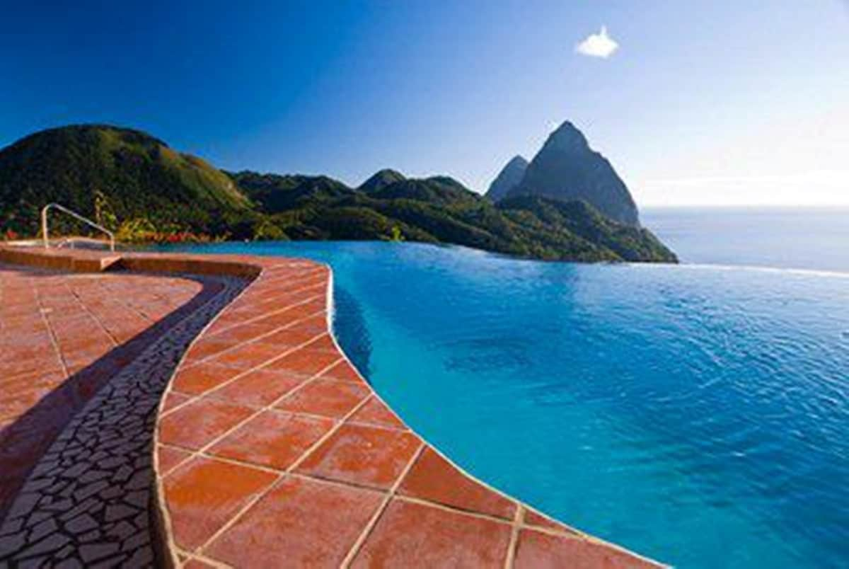 La Haut from Soufriere, Saint Lucia