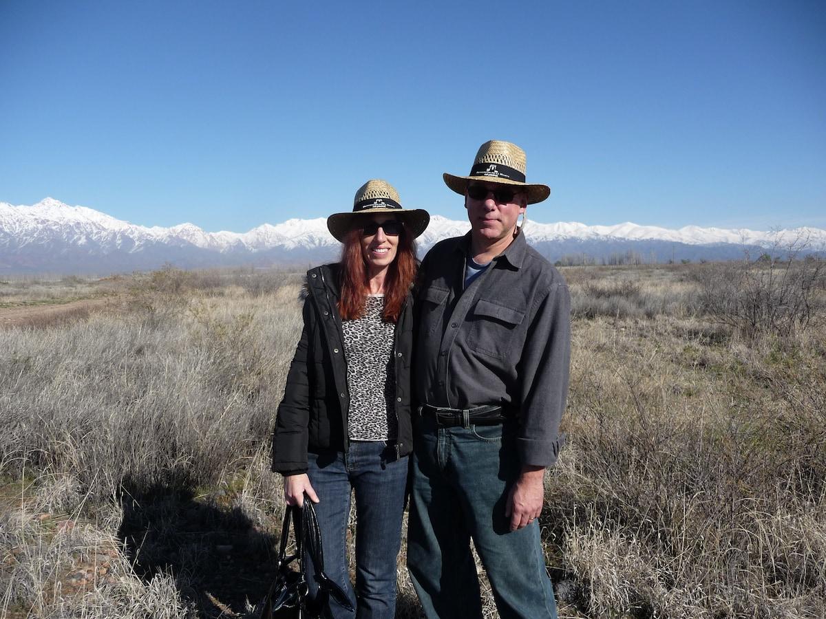 She: California native, PhD history professor turn
