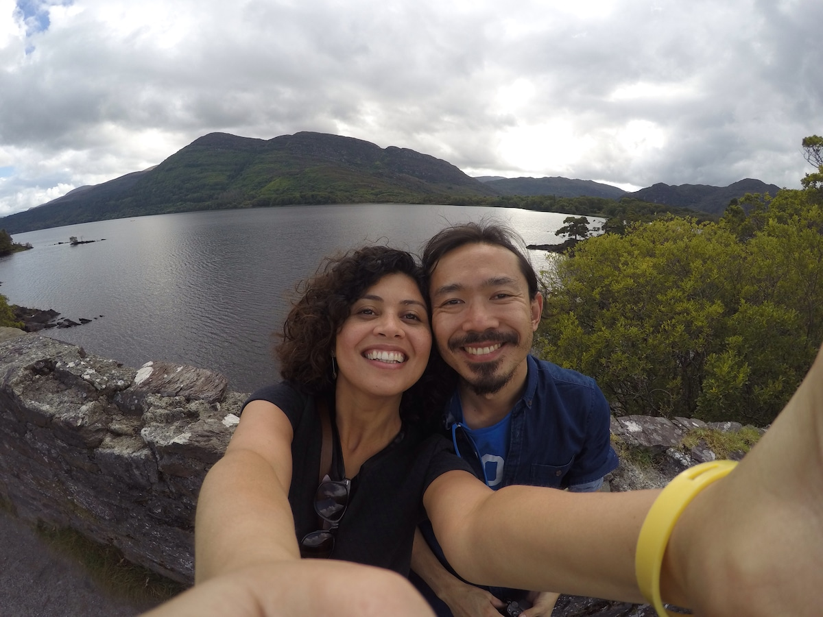 We are a couple from Brazil, living in Dublin. We