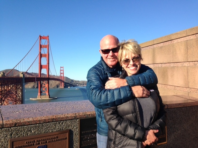 I am a California native. My husband and I moved t