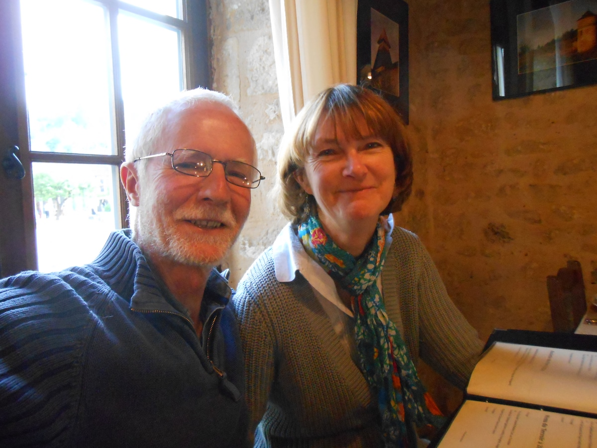 Jeanne And John from Sainte-Sabine-Born
