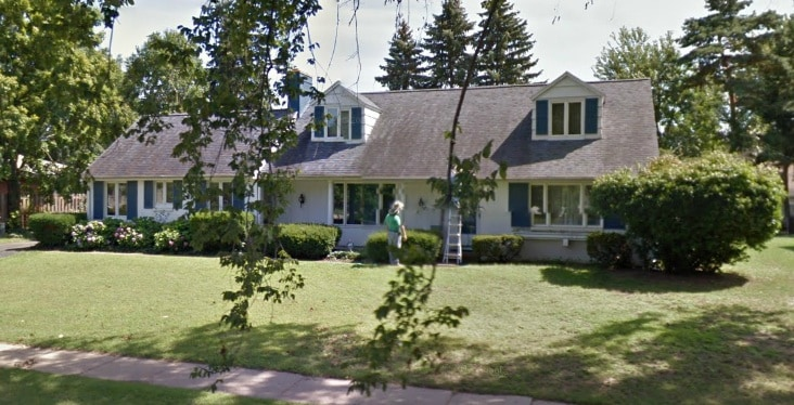 Villa from South Bend