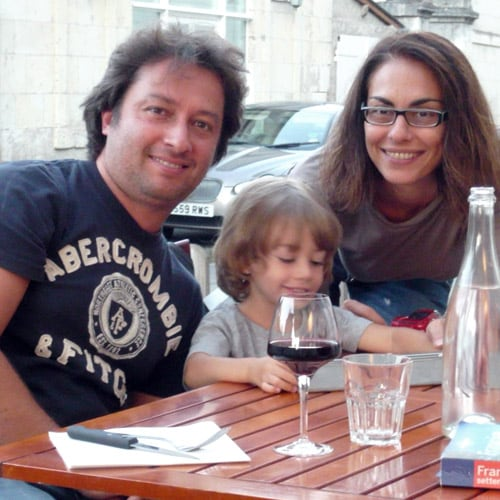 Barbara lives in Firenze with Tommaso and son.