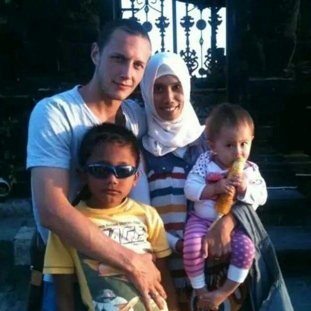 Jolan And Uus from Borobudur