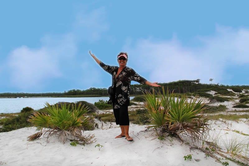Florida's beautiful white coral sand beaches, emer