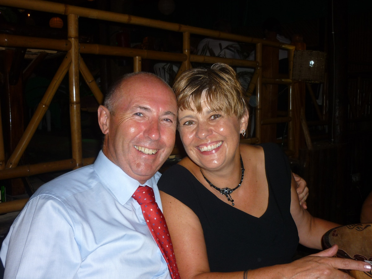 David & Alison from Entebbe