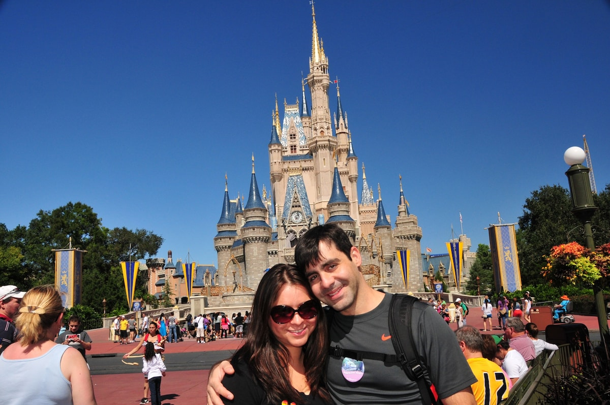 A few years ago my wife and I came to Orlando on v