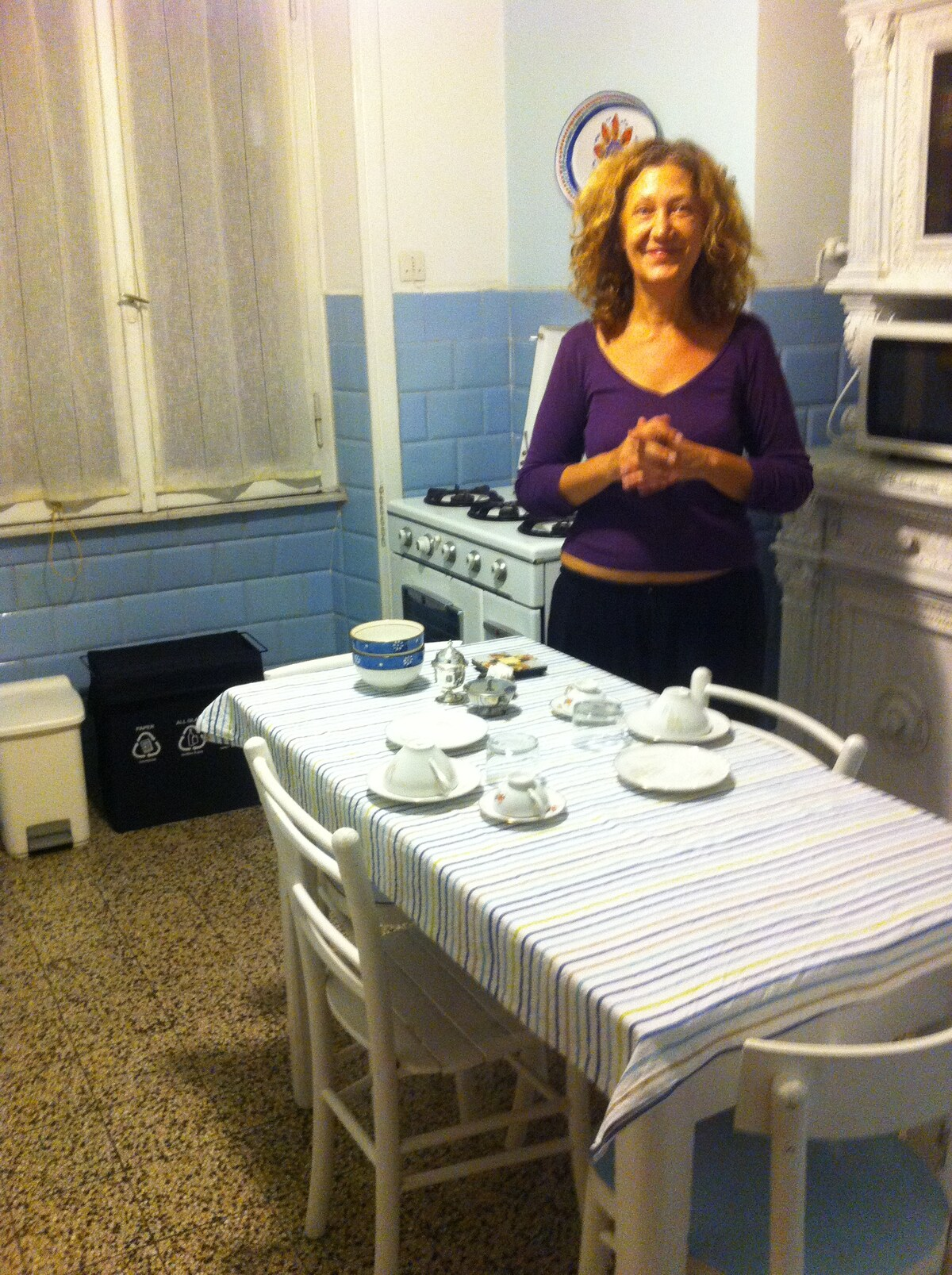 Angela Rosa From Mazzano Romano, Italy