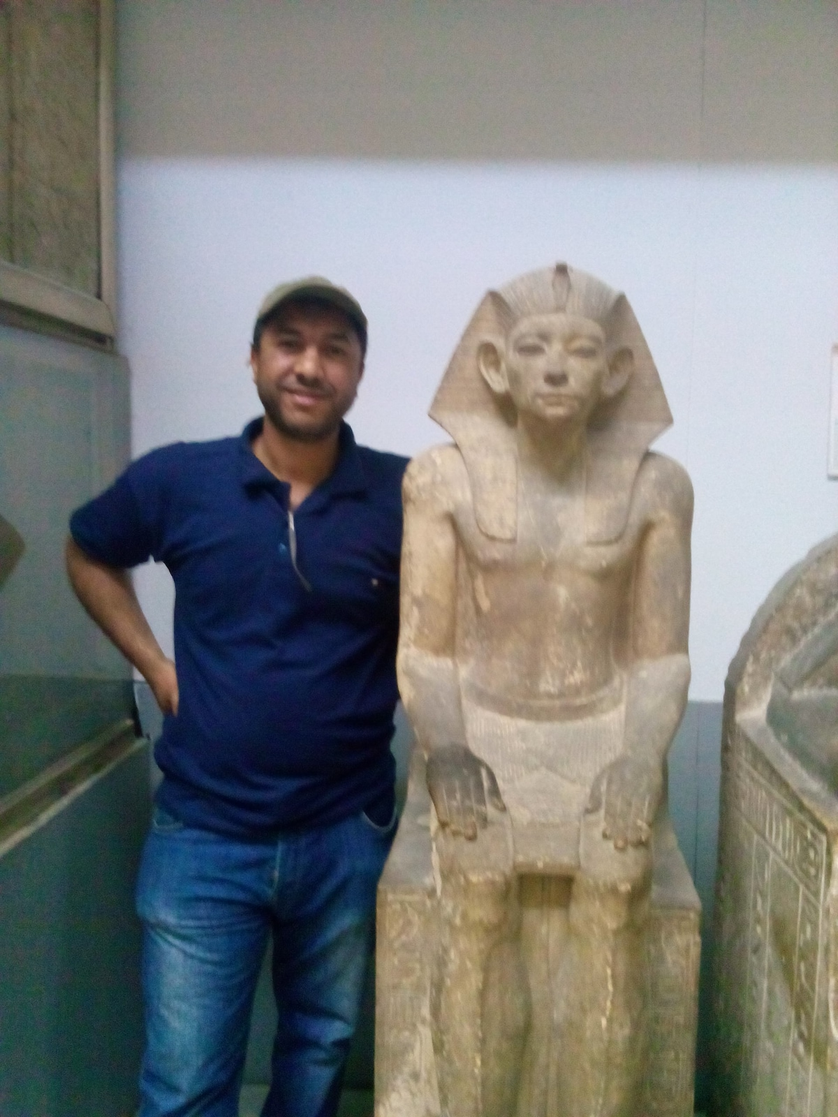 Walid Ali working at Blue Sky Travel Agency  my J