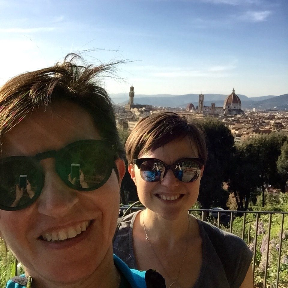 Elisabetta And Claudia from Florence