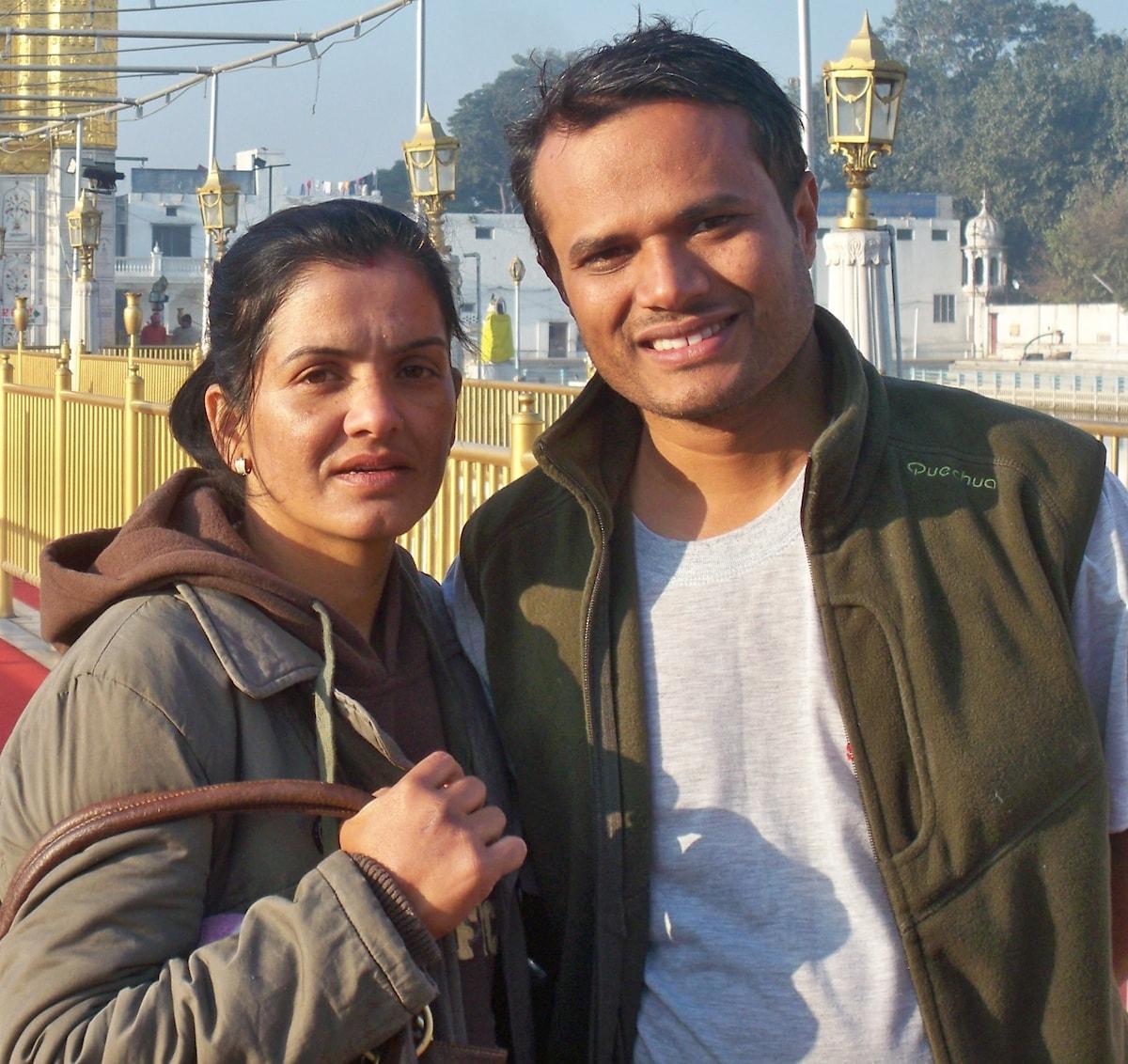 Maya & Dipak From Kathmandu, Nepal