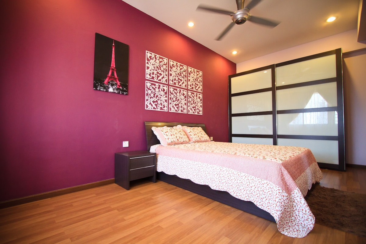 Fanny Vacation Home In George Town Penang-Master Bedroom