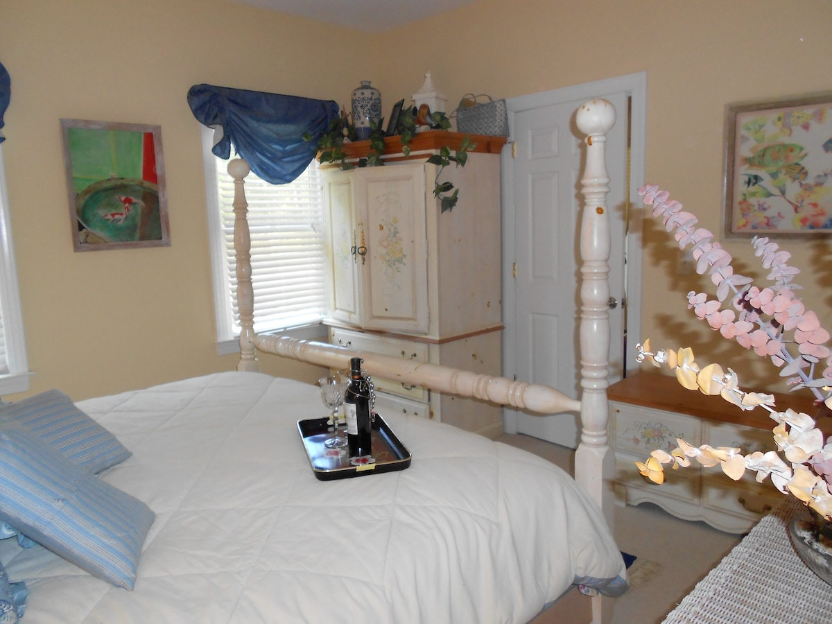 King size guest room available