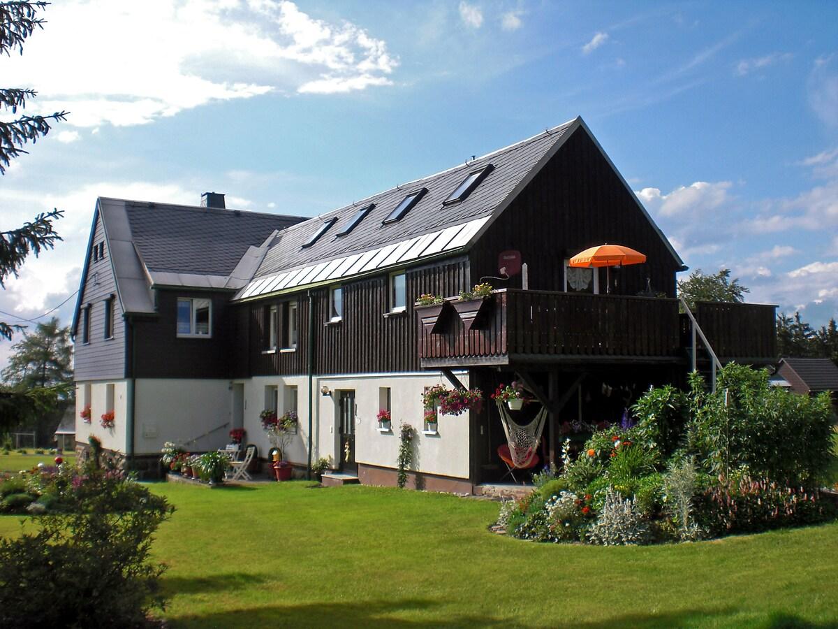"""Ferienhaus """"Am Wald"""" Mühlleithen"""