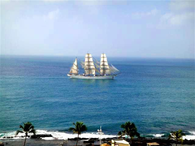 How about booking a daytrip on a sailboat to the nearby islands. Viewed from our penthouse.