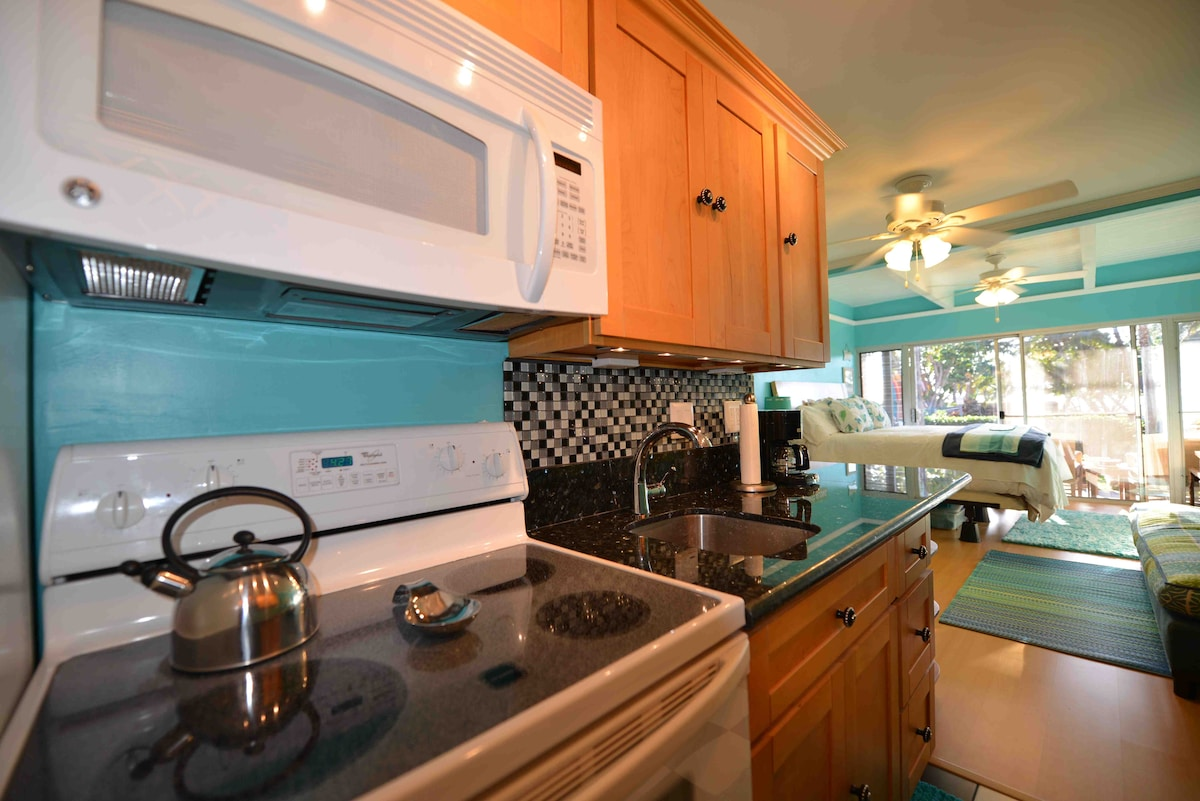 This Gourmet Kitchen Really Has It ALL!  Full size appliances, an Espresso Machine, and even a Water Filtration System....