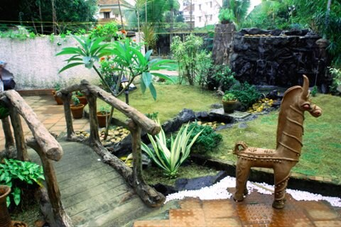 Garden View of Vedanta Wake up! by the backwaters, Fort Kochi