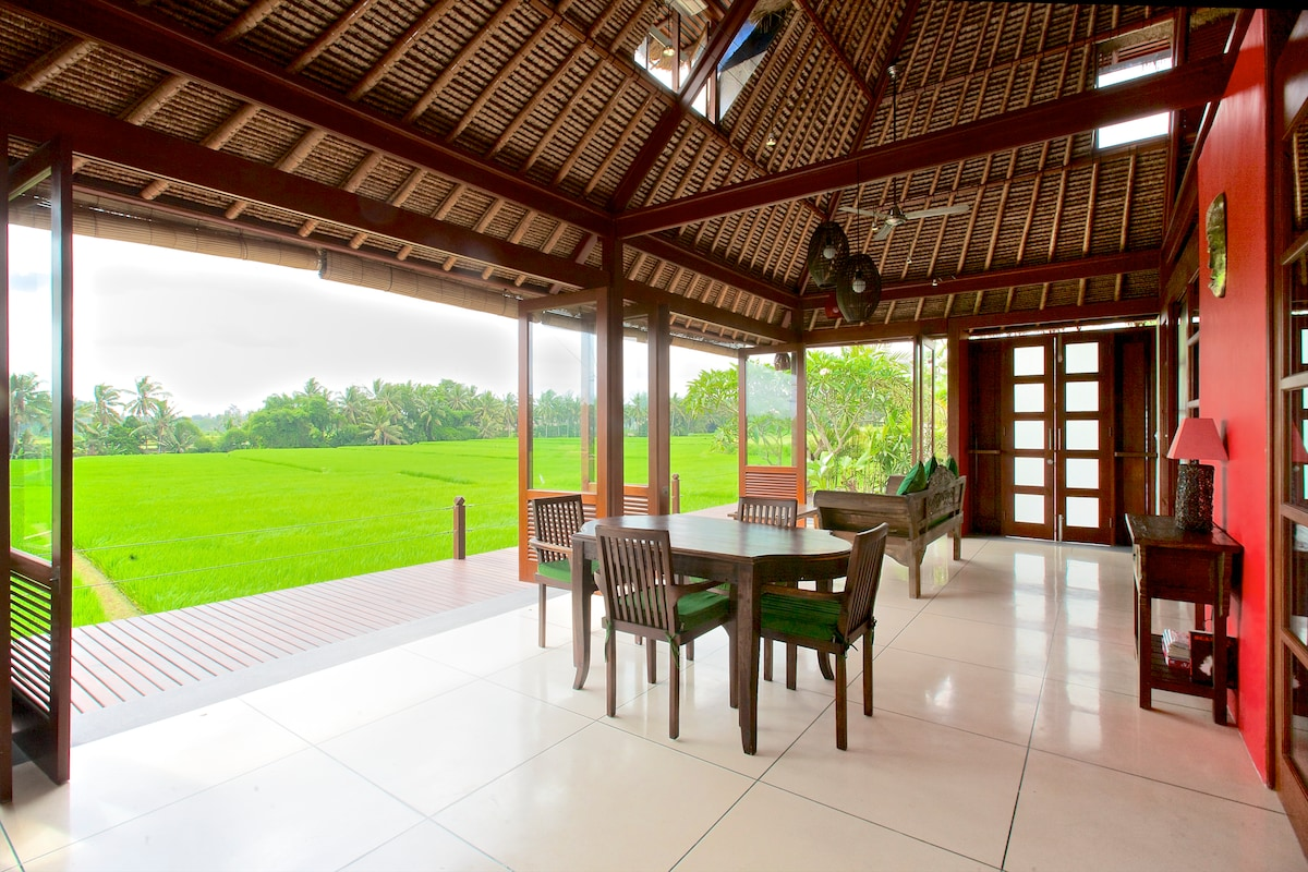The views from your private villa at Sungai