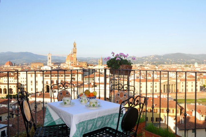 Suite panoramic terrace Florence
