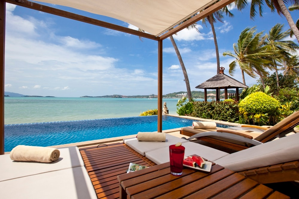 Baan dalah elegant beachvilla in ko samui for Koh tao cabana koi pool villa