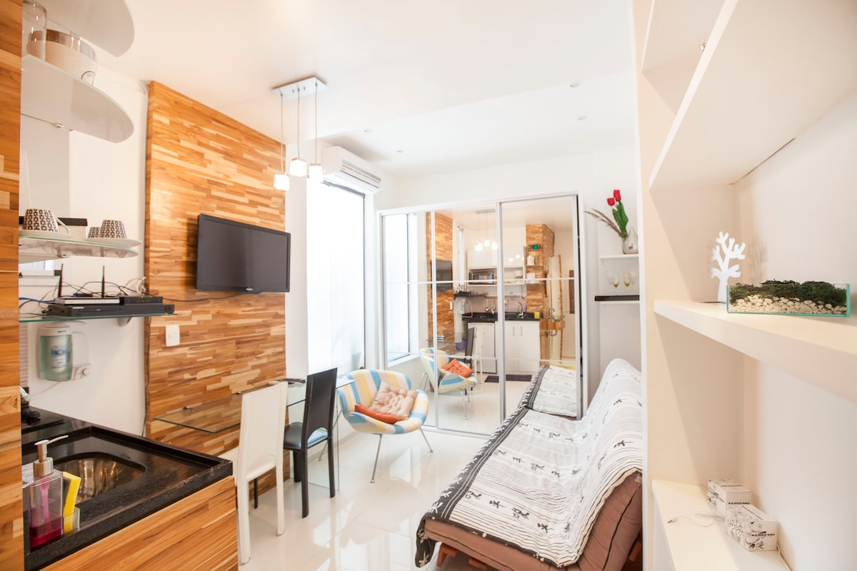 Nano apt in best spot of ipanema in ipanema rio de janeiro - Nano homes small spaces for big sensations ...