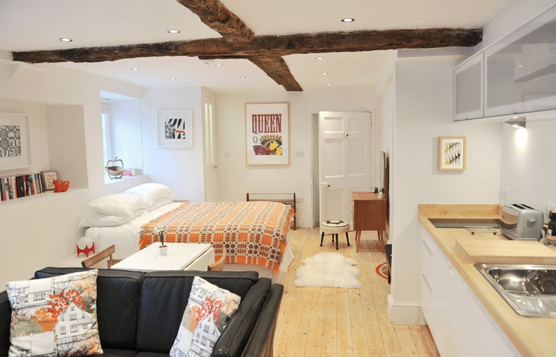 Lovely boutique studio near Bath