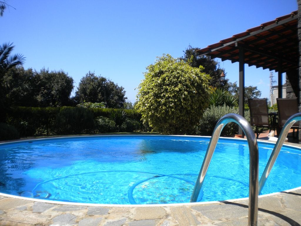 Loft, pool and garden...