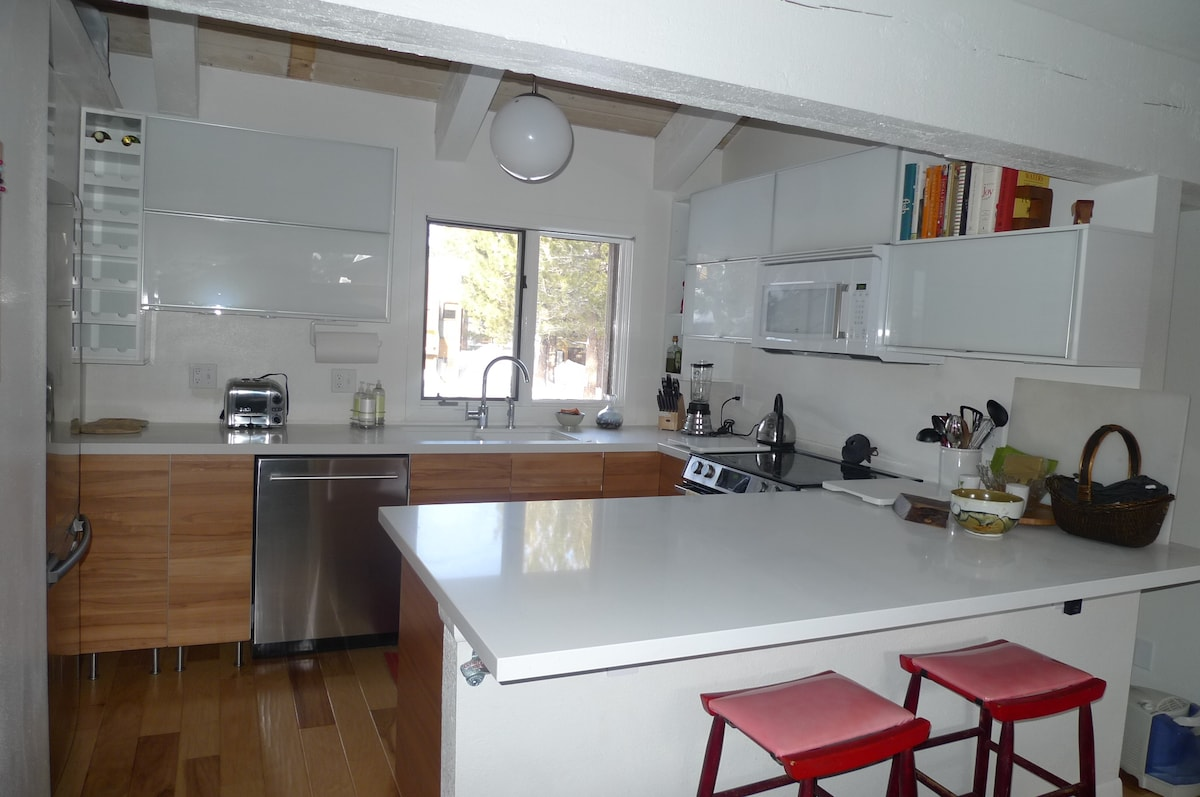 kitchen designed for cooking