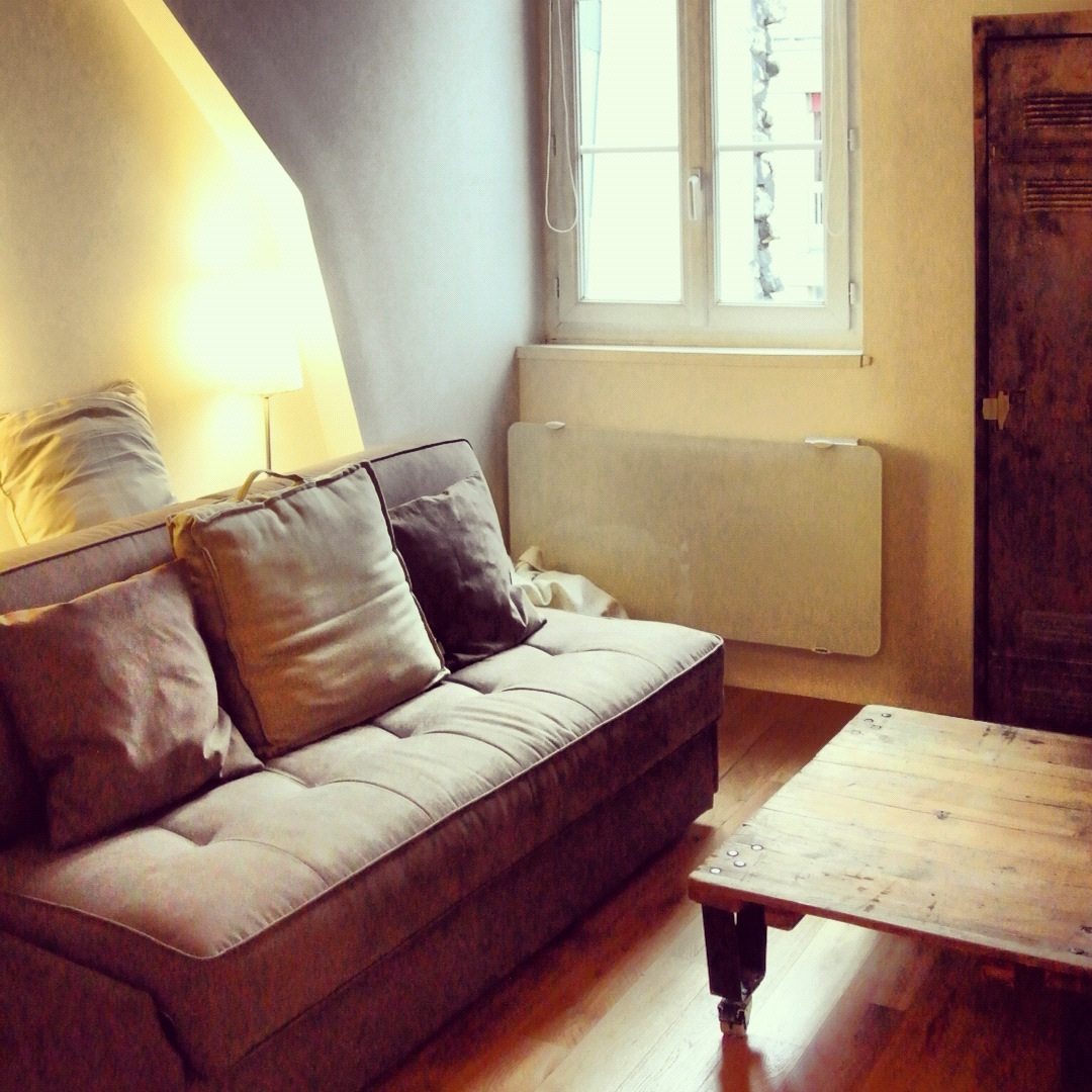 """Living Room"" Part Of The Studio"