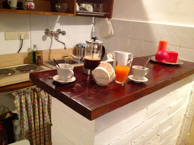 A juicy breakfast at La Casina