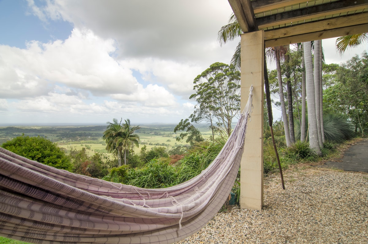 View from the hammock is amazing.