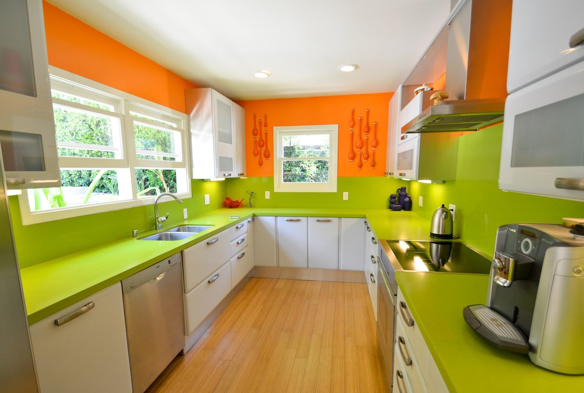 Enjoy cooking in or just looking at this state of the art kitchen
