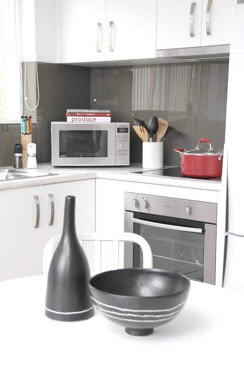 full size, fully equipped kitchen with SS appliances
