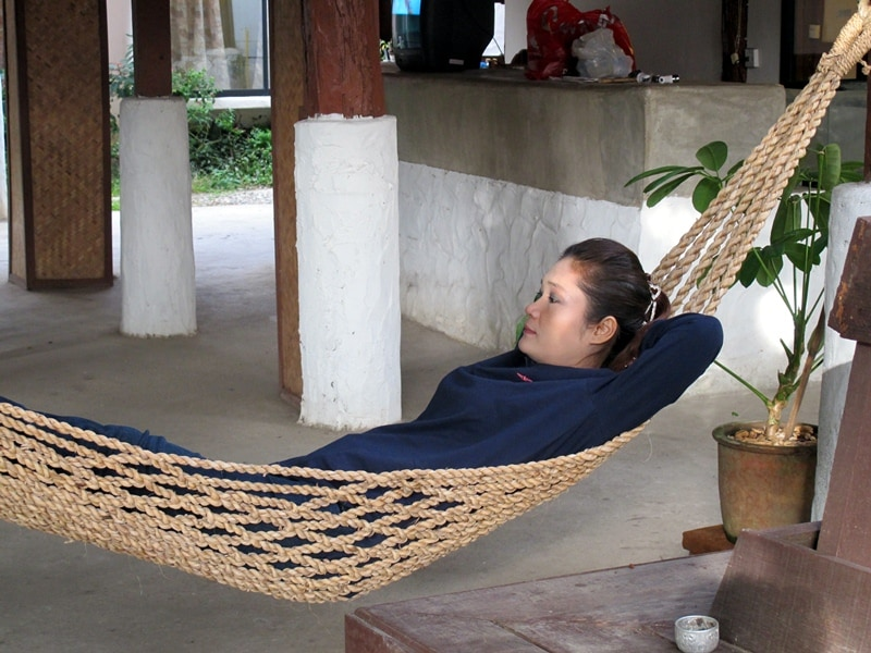 relax and dream after shopping