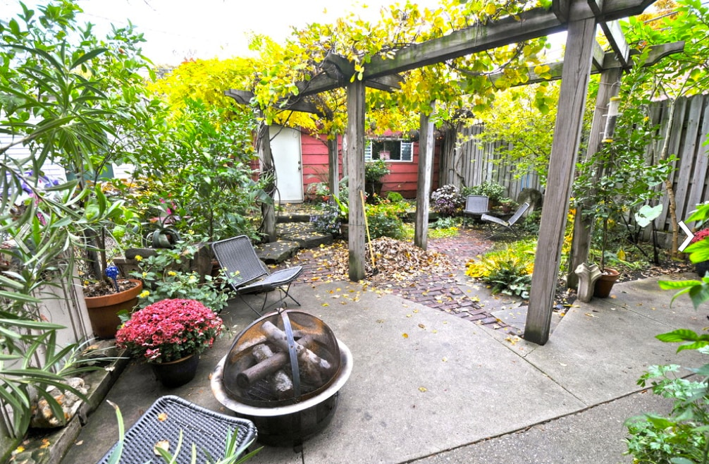 17/17: Our yard in the fall.