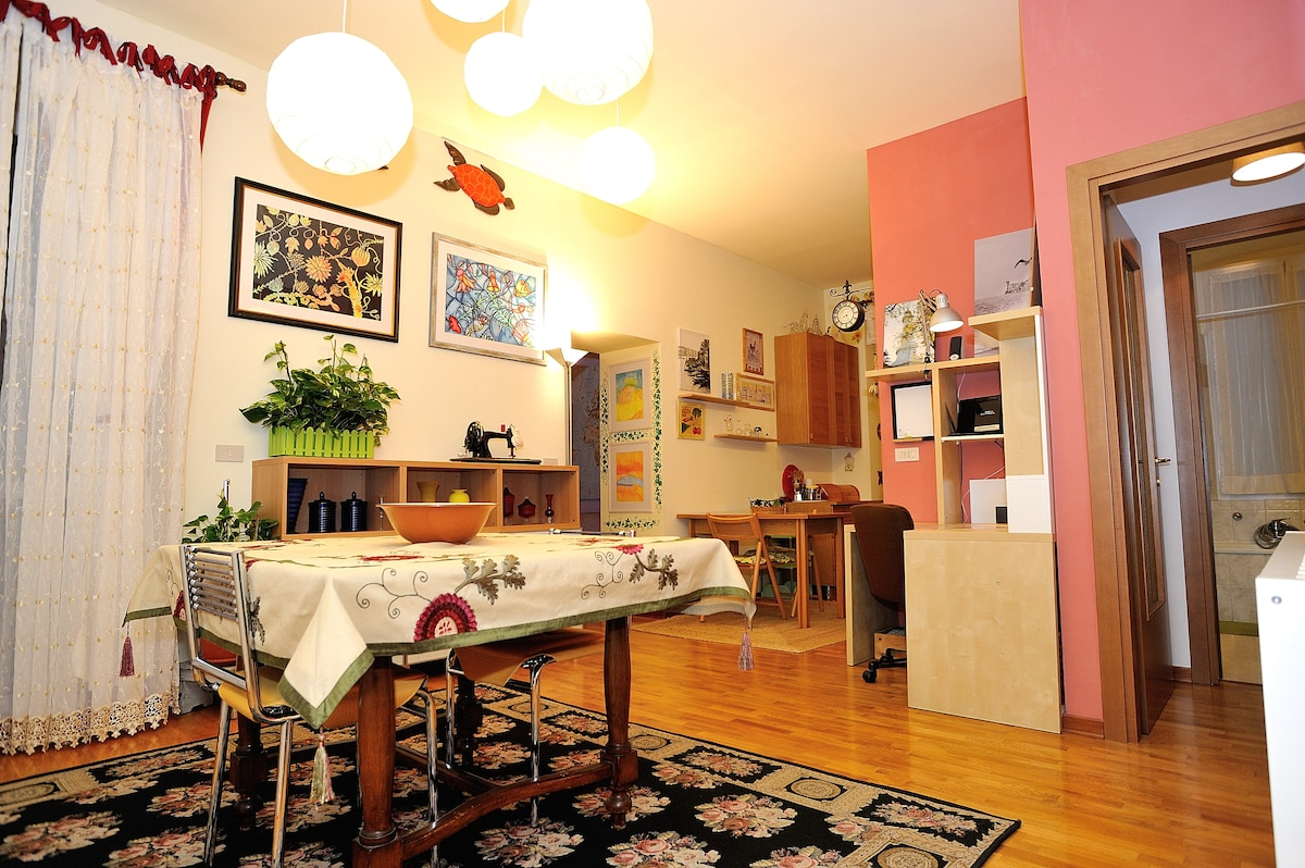 Your homey apartment in Trieste city centre
