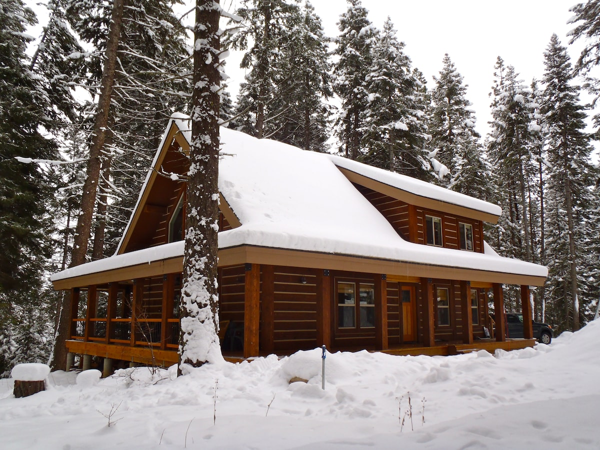 backcountry cabin rental mccall id in mccall