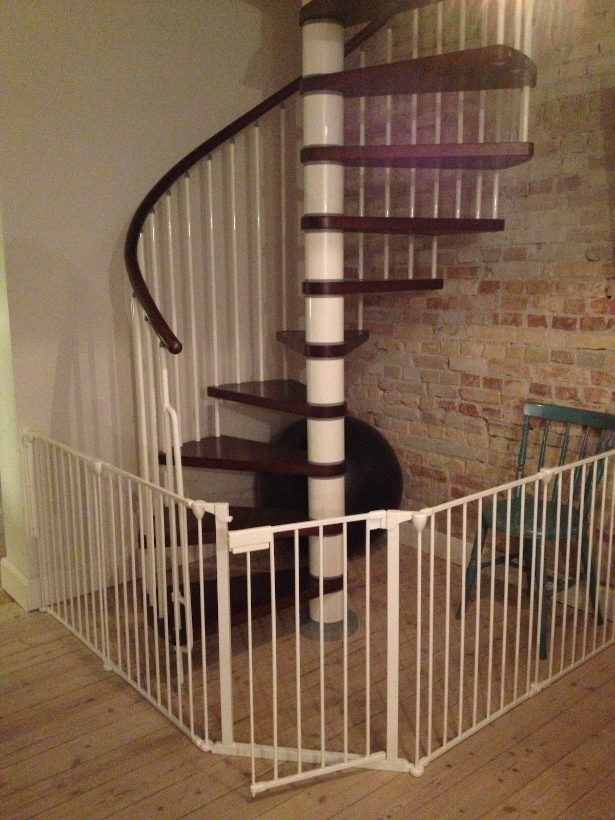 Staircase - now gated