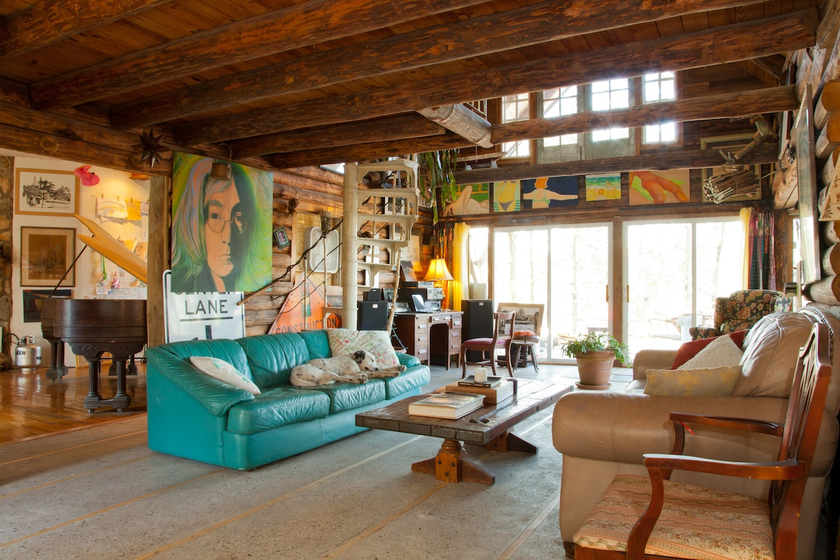 WalkerWorld Organic Artist Retreat, Blossom Ferry Road on the Cape Fear River, Castle Hayne, North Carolina