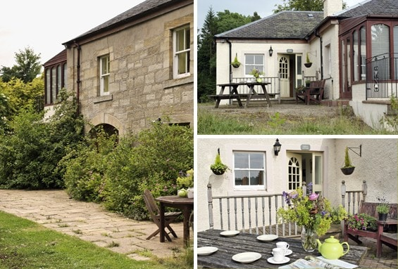 Cosy farm cottage near Edinburgh