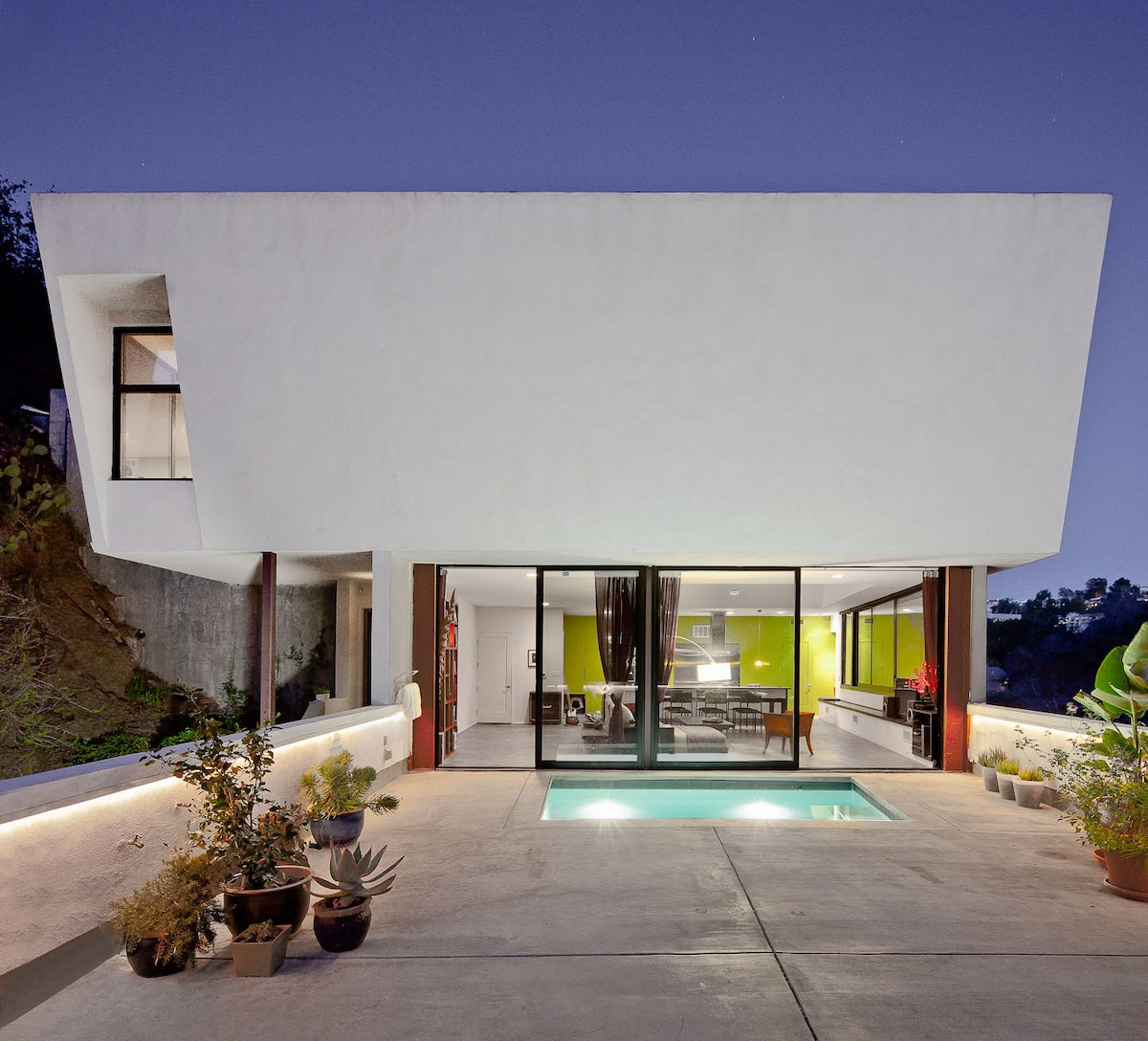Architectural Gem with Pool