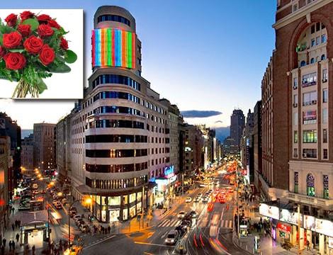 Gran Vía-the Spanish Broad Way is waiting for you next to the apartment!