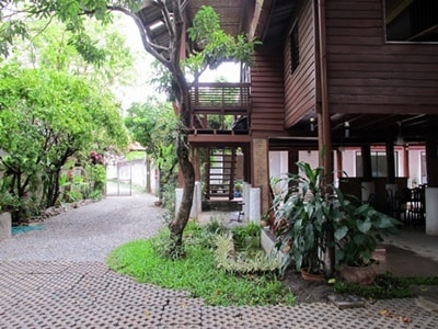 Big teak wood house since 1927