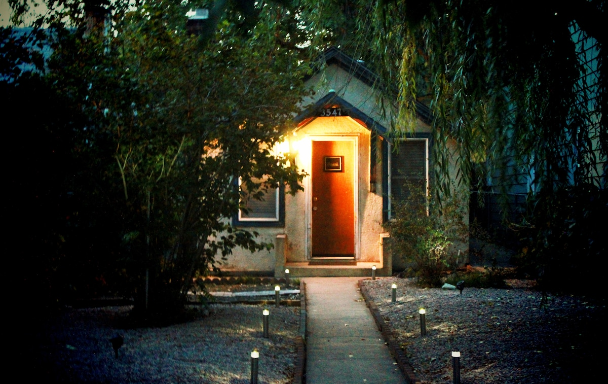 willow cottages entrance