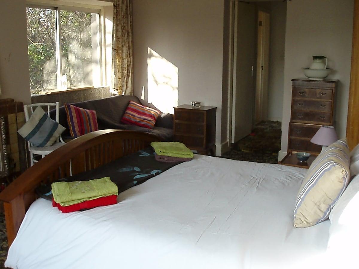 Big Comfy Bedroom in Main Haus