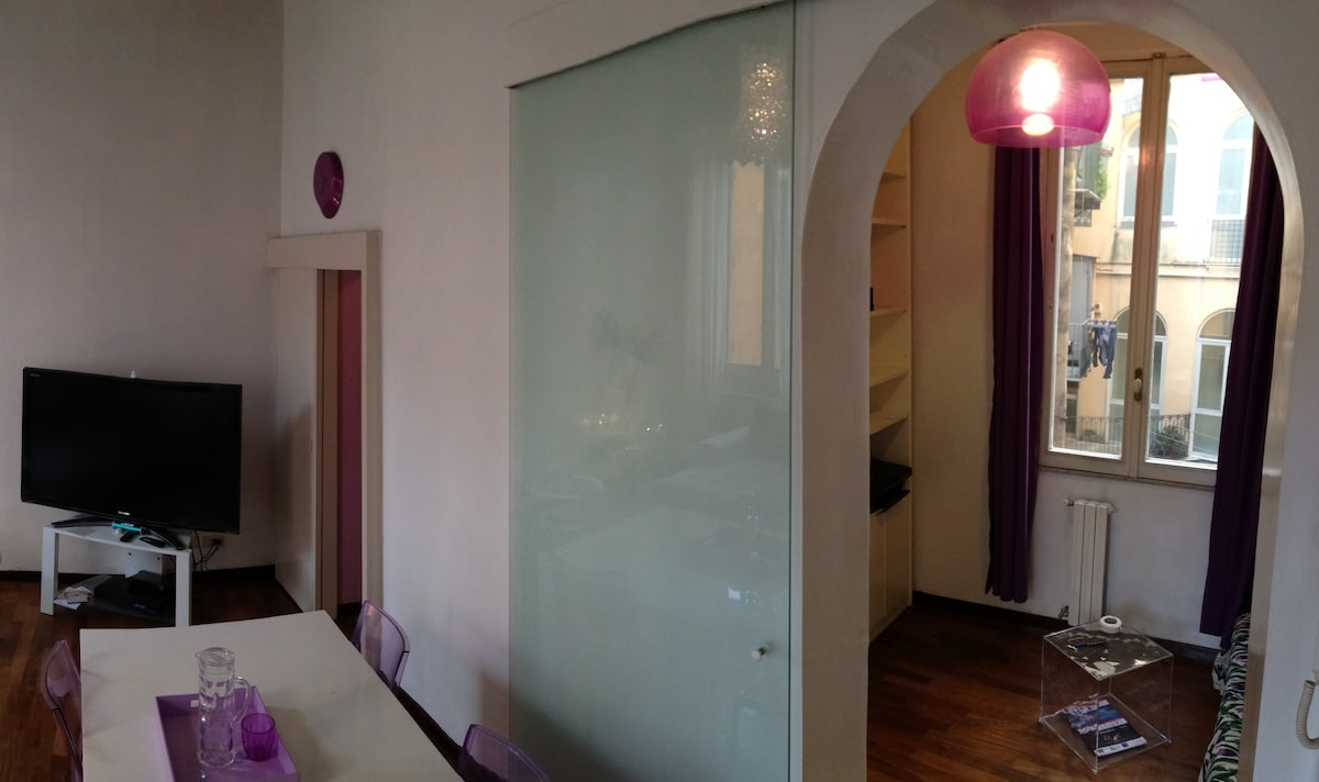 VIEW OF LIVING ROOM AND BEDROOM 2