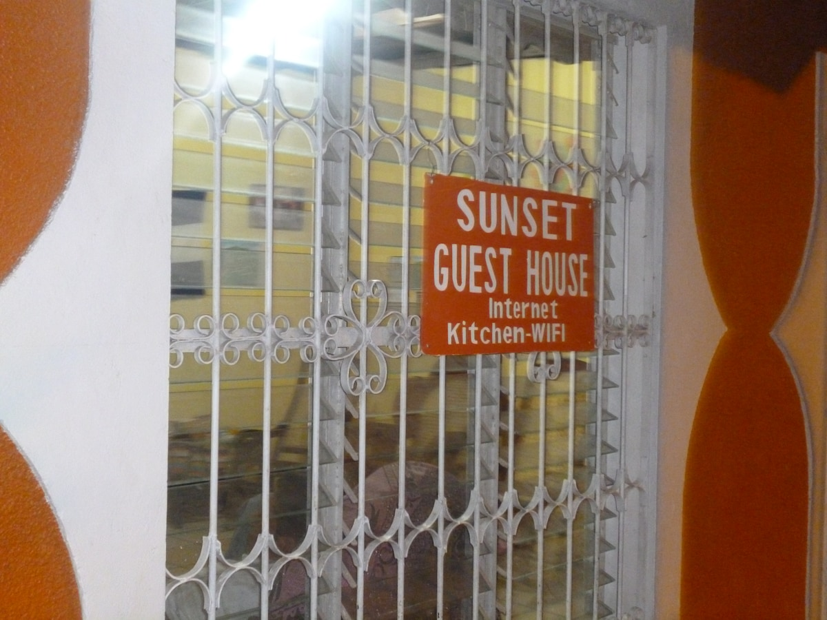 sunset guest house ,rooms for rent