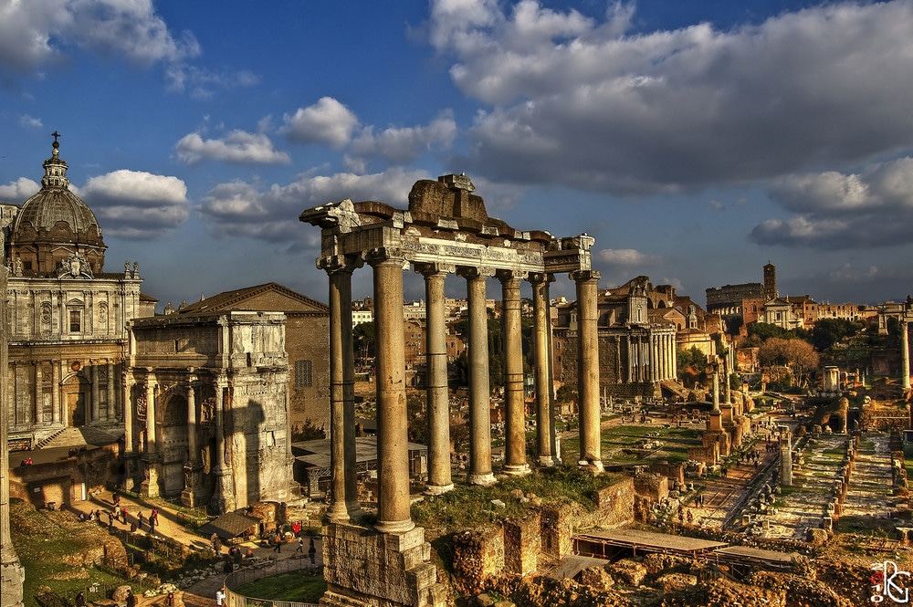 The Imperial Roman Forum is just around the corner!